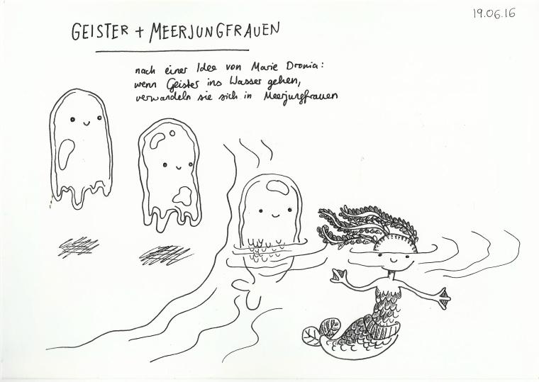 Geister und Meerjungfrauen