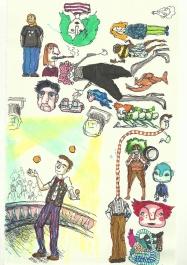 Skizzenbuch 2, links