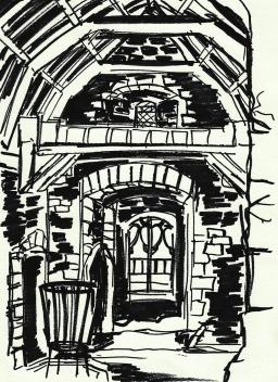 Winterfell. In Doune Castle.