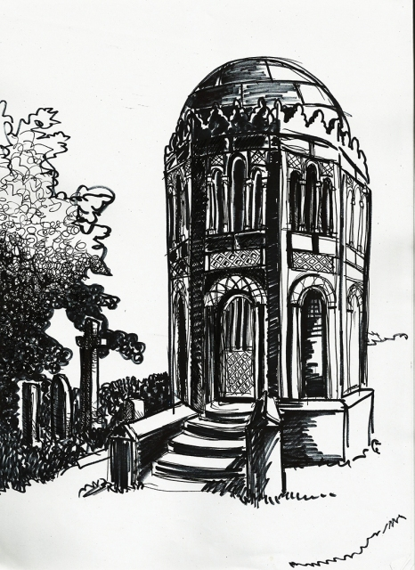 A Necropolis building
