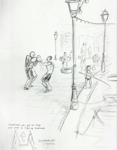 Boxing Scots (Schottenboxen)