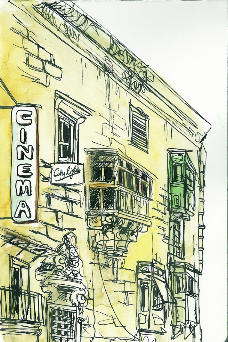 a street in Valetta, Malta's capital