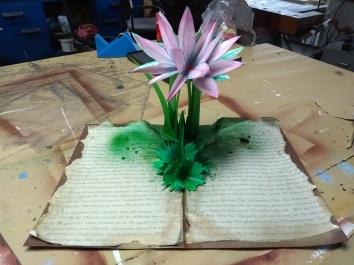 Blühende Lilie