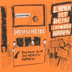 """6.7. Mahnwache """"Notstand der Menschlichkeit"""""""